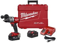 Milwaukee Tool - 2804-22 M18 FUEL Lithium-Ion Brushless Cordless Hammer Drill Driver Kit
