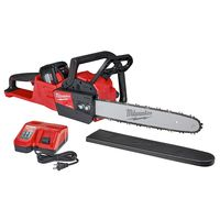 Milwaukee Tool - 2727-21HD M18 FUEL 18-Volt Lithium-Ion Battery Brushless Cordless Chainsaw Kit with 12.0 Ah Battery and M18 Rapid Charger