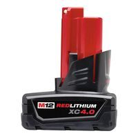 Milwaukee Tool - 48-11-2440 M12 REDLITHIUM XC 4.0 Extended Capacity Battery Pack